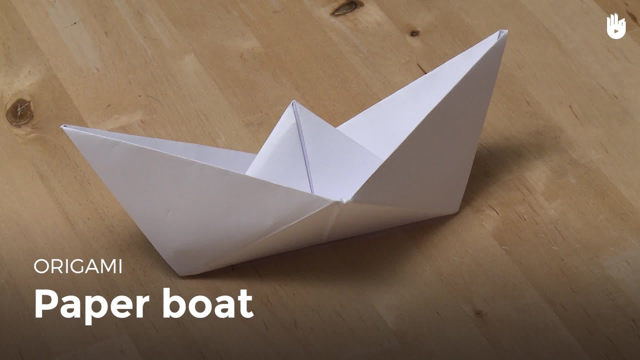 origami paper boat learn how to make origami sikana