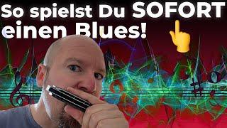 Mundharmonika Blues: So spielst Du einen Blues auf Deiner Blues Harp! (einfach nach Pfeilen)