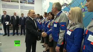 «Начинайте!»: Путин запустил Балаклавскую и Таврическую ТЭС в Крыму