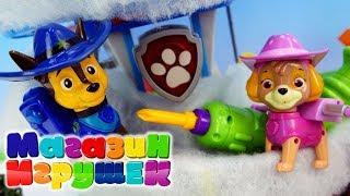 Щенячий патруль утепляет базу Крепыш и пица Видео для детей с игрушками #5 Новая серия мультика