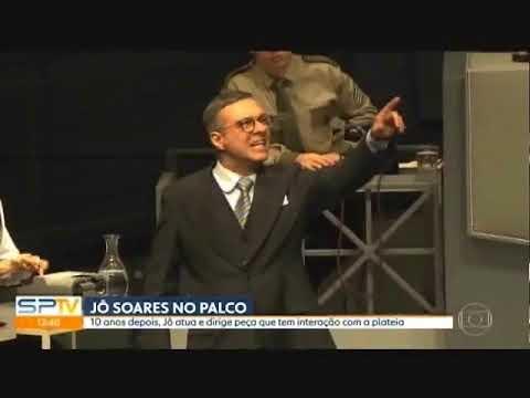 SP1 - Jô Soares volta aos palcos como ator depois de 10 anos