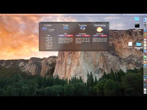 Weather Dock For Mac Review