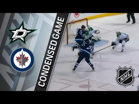 Dallas Stars vs Winnipeg Jets – Mar. 18, 2018 | Game Highlights | NHL 2017/18. Обзор
