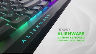 YouTube Video S8aUX6lk0Ws for Product Dell Alienware Mechanical Gaming Keyboards AW510K, AW310K by Company Dell in Industry Peripheral