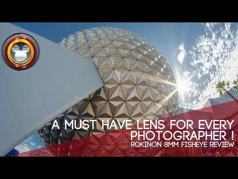 Rokinon 8mm f/3.5 Fisheye lens review. You need this lens!
