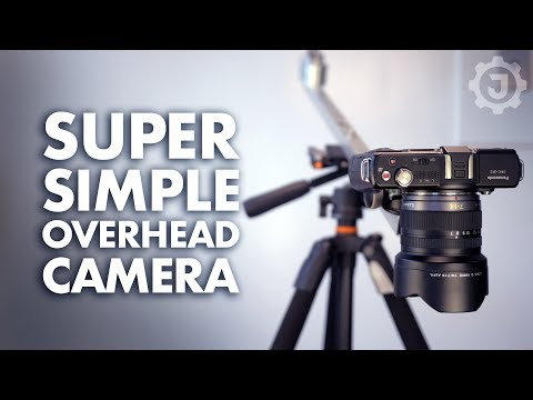 This DIY Overhead Camera Mount Is Cheap To Make And Won't Take Up A Lot Of Space