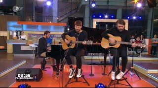 Editors   Interview And Upside Down On ZDF 23rd October 2019