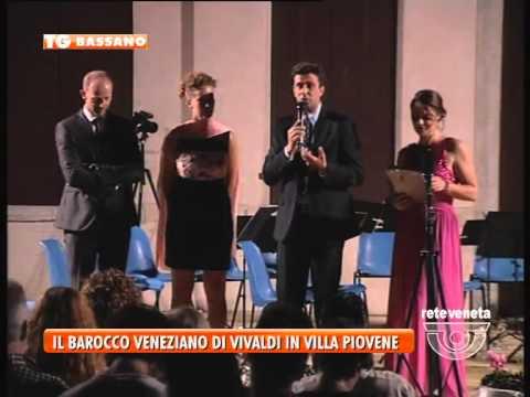 BASSANO TG - 24/07/2015 - IL BAROCCO VENEZIANO DI VIVALDI IN VILLA PIOVENE