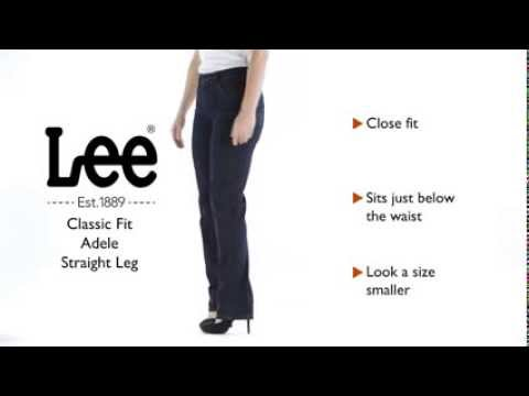 Lee Jeans - Classic Fit Adele Straight Leg Jean