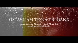 Djani Ostavljam Te Na Tri Dana Official Lyric Video 2019