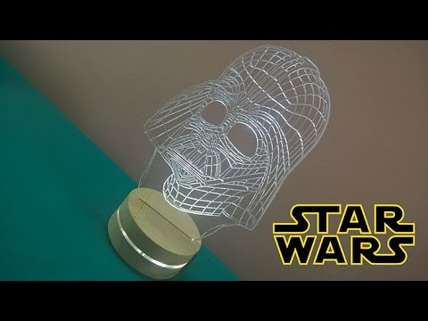 Darth Vader LED Light Table Lamp Review