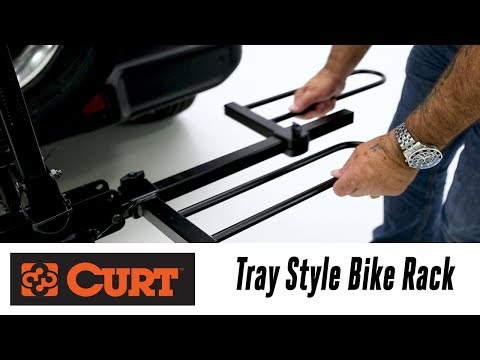 In the Garage™ with Total Truck Centers™: CURT Tray Style Bike Rack