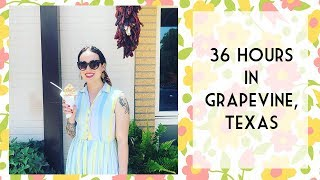 36 Hours In Grapevine, TX + My Feature In Flea Market Decor Magazine | Emily Vallely