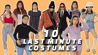 10 Last Minute Costumes You Can Wear After Halloween (from Clothes U Already Have) | JENerationDIY