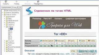 Список html, теги UL и LI