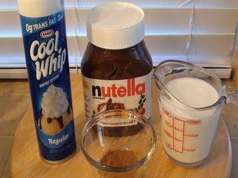 Πως να φτιάξετε ζεστή σοκολάτα με Nutella