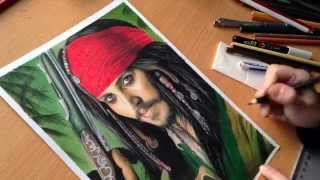 Jack Sparrow - Speed Drawing
