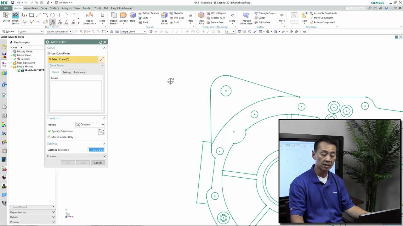 Synchronous Technology 2D - NX - Siemens PLM