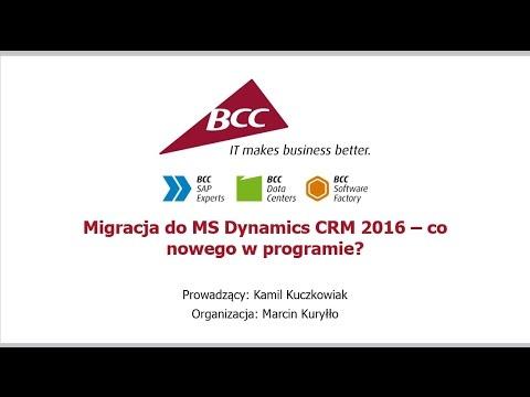 Migracja do MS Dynamics CRM 2016 – co nowego w programie