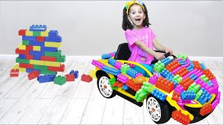 Drive a Car Kids Toys and More with Fatima and Ismet