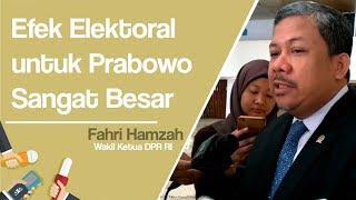 Fahri Hamzah Menilai Kehadiran Prabowo di Reuni 212 Punya Efek Elektoral