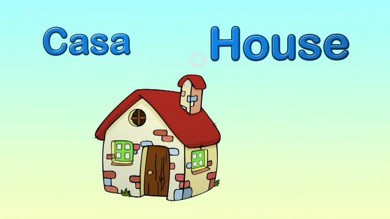 Cómo se dice casa en inglés.