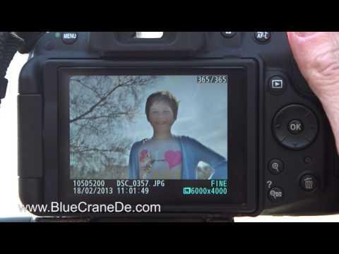 Fotografieren mit der Nikon D5200: Ein Video-Tutorial
