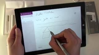 Microsoft Surface 3 Pen Unboxing und erster Eindruck