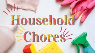 Household Chores (ESL Vocabulary)