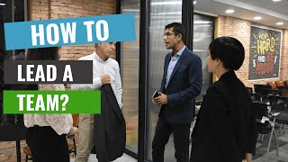 How to lead a team | Business mentoring