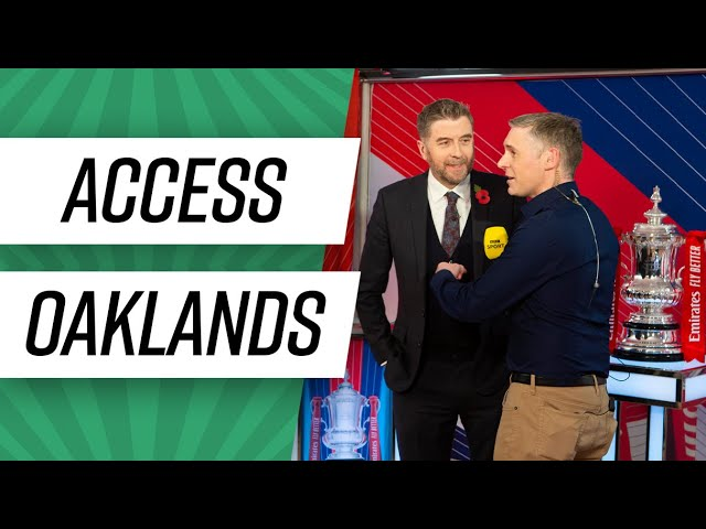 Access Oaklands: The FA Cup 2nd round draw