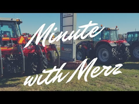 Minute with Merz #2 - Welcome Naz, Crop Tour & AGCO Rep Visit
