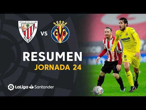 Resumen I Athletic Club 1-1 Villarreal CF (LaLiga J.24)