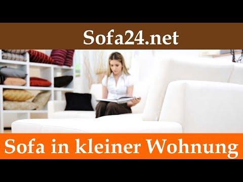 Welches Sofa fuer kleine Wohnzimmer | Ecksofa mit Schlaffunktion für kleine Räume