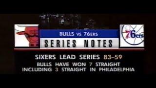 1996 Chicago Bulls at Philadelphia 76ers at The Spectrum January 13 - FULL GAME