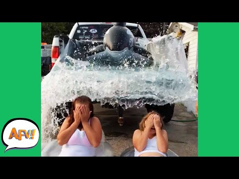 Download Watch Them Get WASHED AWAY! 😅😆 | Funny Vehicle Fails | AFV 2020 HD Mp4 3GP Video and MP3