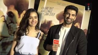 OK Jaanu Stars Shraddha Kapoor Aditya Roy Kapurs Candid Interview