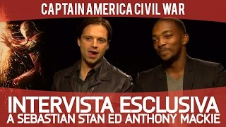 Civil War: intervista esclusiva a Sebastian Stan ed Anthony Mackie