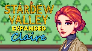 Stardew Valley Expanded Mod - Claire