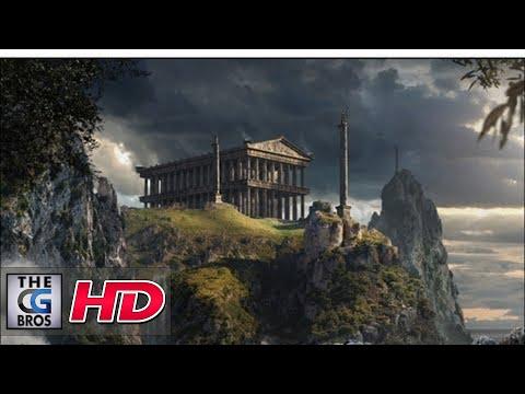 "CGI Breakdown Matte Painting : ""Wrath of the Titans"" Temple 2 – by Francesco Corvino"