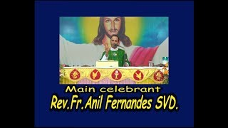 Holy Eucharist Celebrated By Rev.Fr.Anil Fernandes At DCC Mulki On 25-08-2018