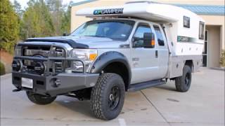 Overland Upgraded 2012 Toyota Tacoma with Four Wheel Camper