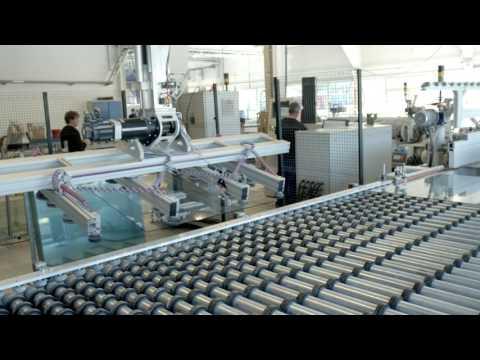 Mit modernster A+W Software hoch automatisierte Glasveredelung bei einem norwegischen Glasveredler