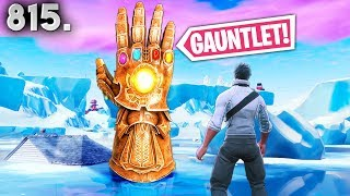 *THANOS* GAUNTLET MADE BY PLAYER ! - Fortnite Funny WTF Fails and Daily Best Moments Ep. 815