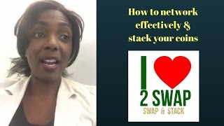 How to network effectively & stack your coins