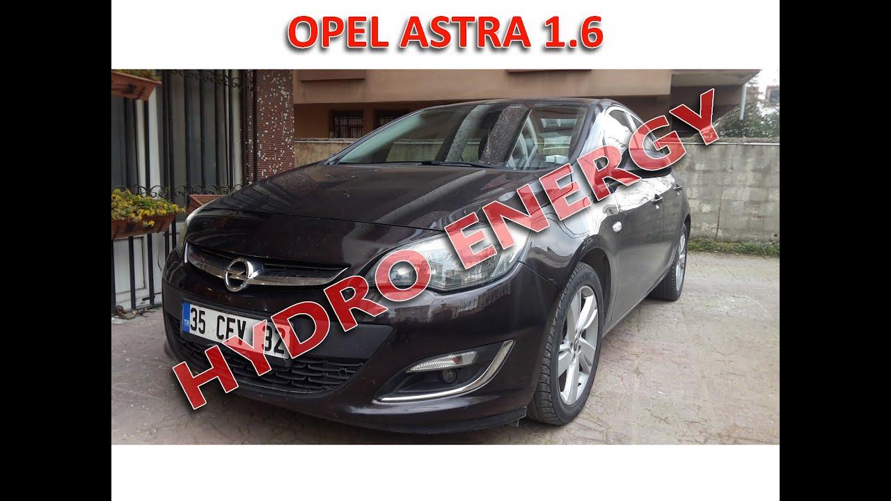 Opel Astra J 1.6 hidrojen yakıt sistem montajı