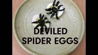 Spider Avocado Deviled Eggs   Hispanic Kitchen