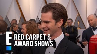 """Andrew Garfield Talks Being a """"First Timer"""" at 2017 Oscars 