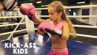 The Knockout Boxer Who's Only 9 | KICK-ASS KIDS