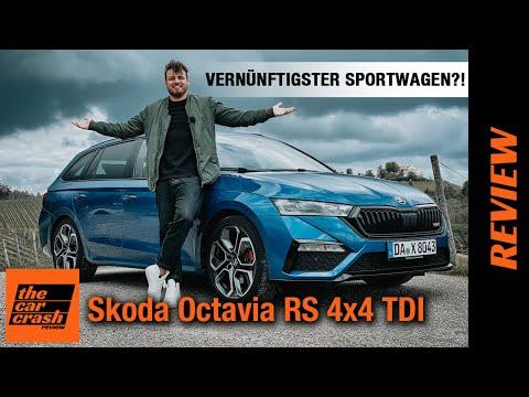 Skoda Octavia RS 4x4 TDI Combi (2021): Der vernünftigste Sportwagen der Welt?! Fahrbericht | Review